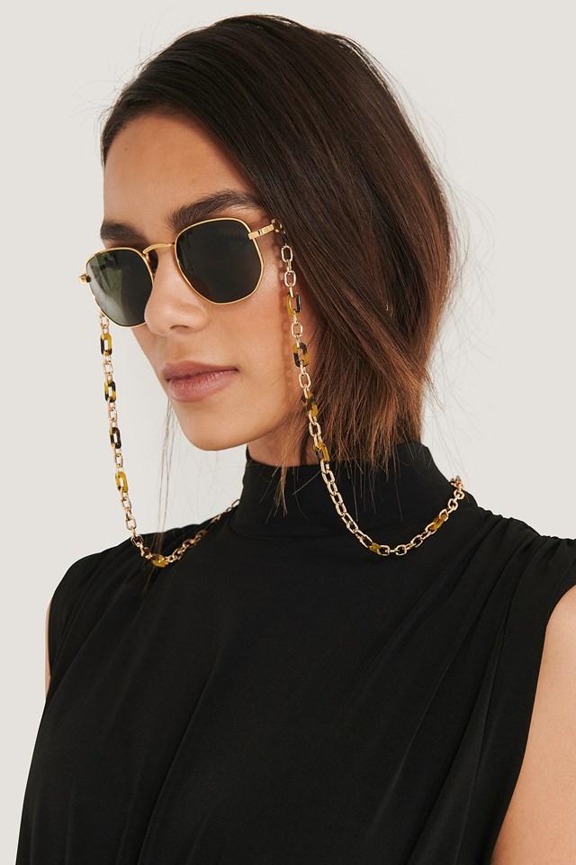 Tortoise Sunglasses Chain Tortois