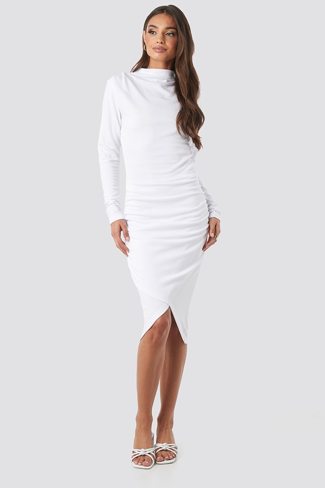 Twist Wrap Dress NA-KD Party