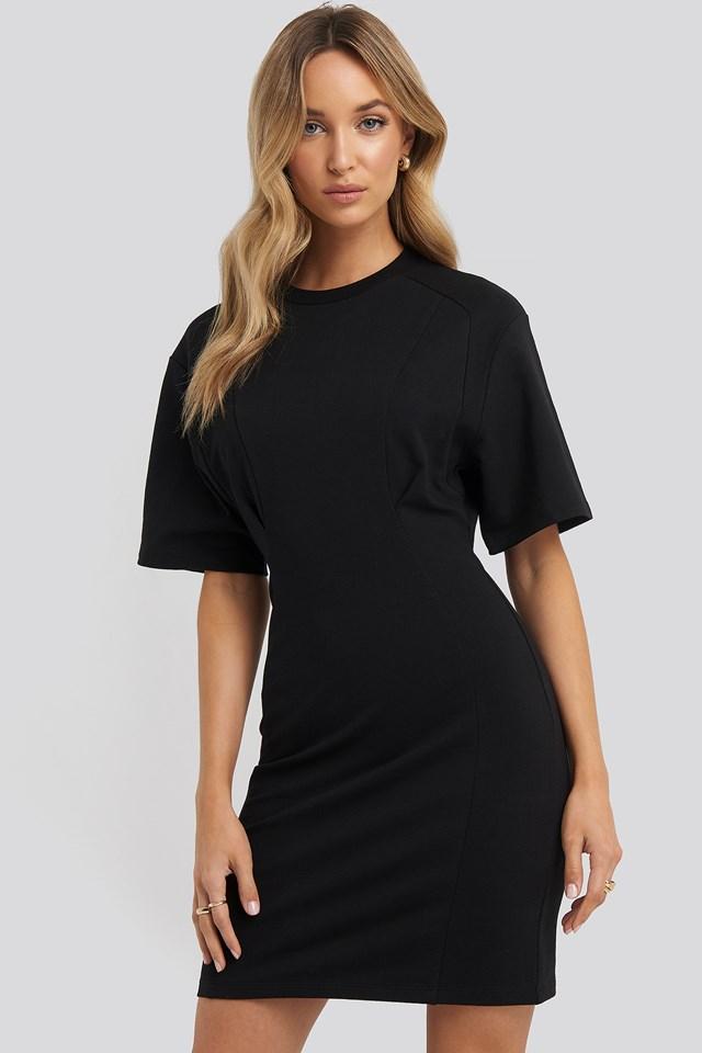 Waist Dart Detail Dress NA-KD