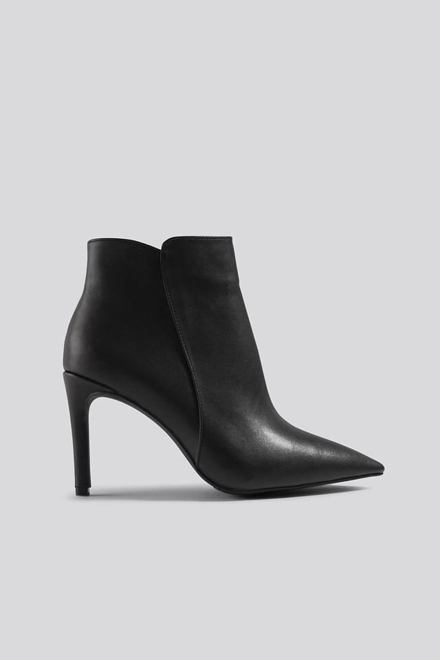 Warm Lined Stiletto Boots NA-KD Shoes