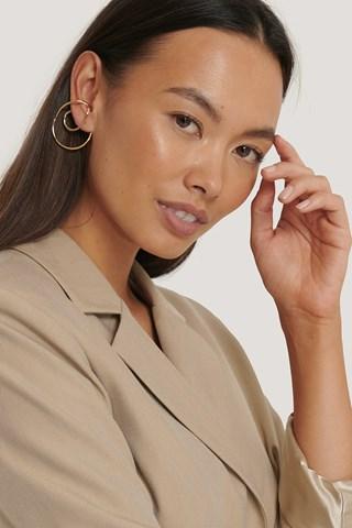 Gold Wire In-Ear Cuffs