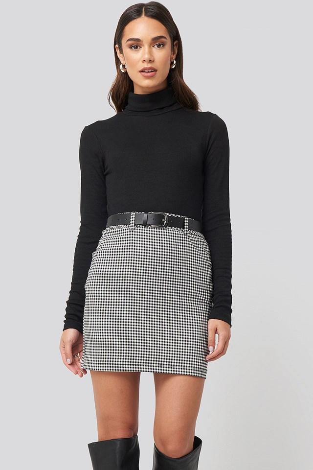 Checked Skirt Nicci Hernestig x NA-KD