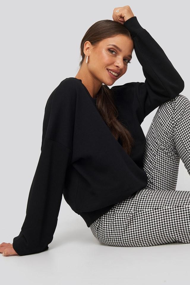 Drop Shoulder Sweater Nicci Hernestig x NA-KD