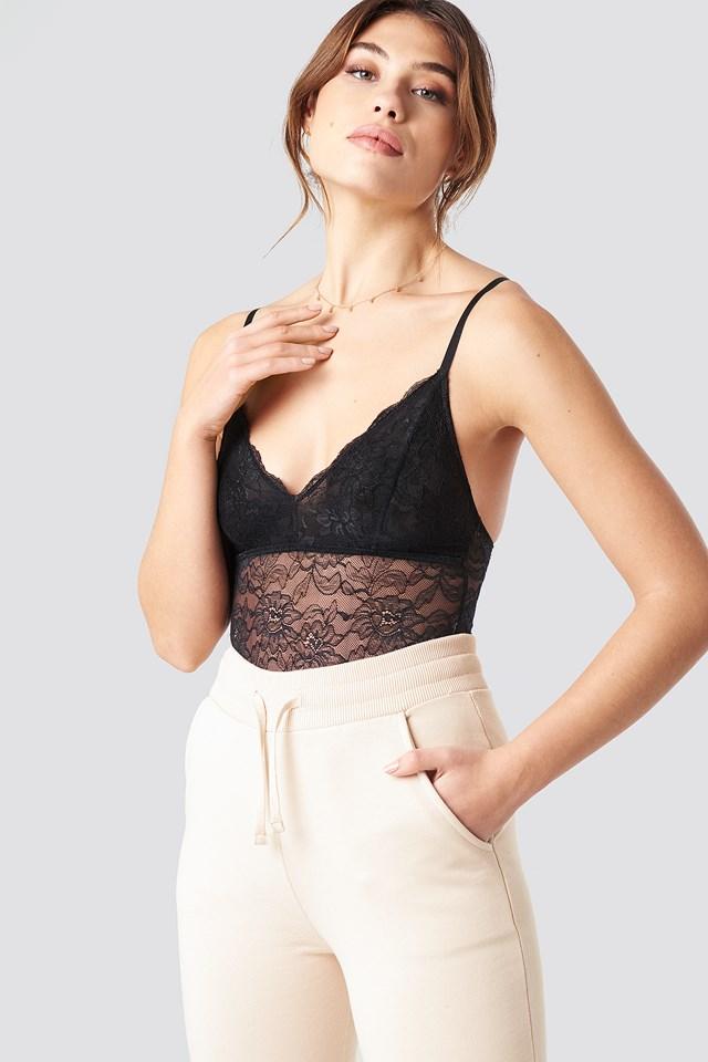 Lace Bodysuit Pamela x NA-KD