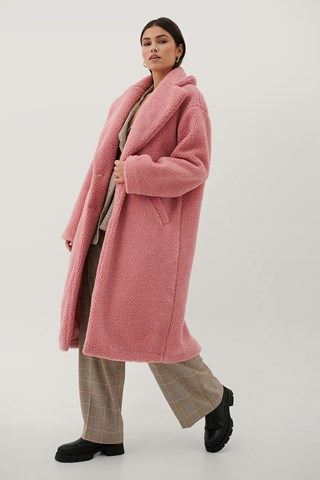 Pink Big Teddy Jacket