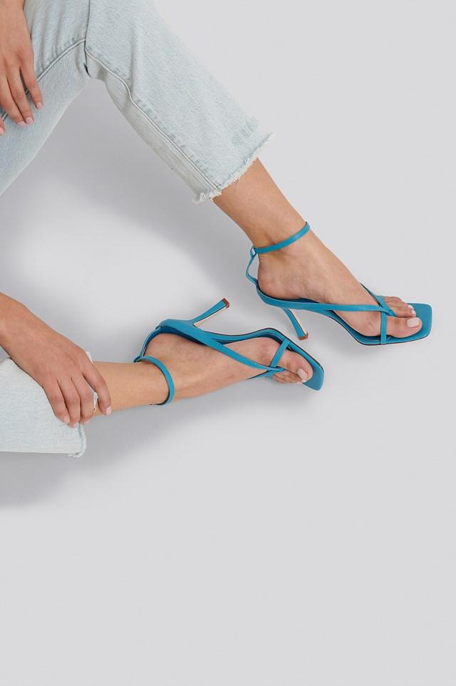 Meeka Heels Blue