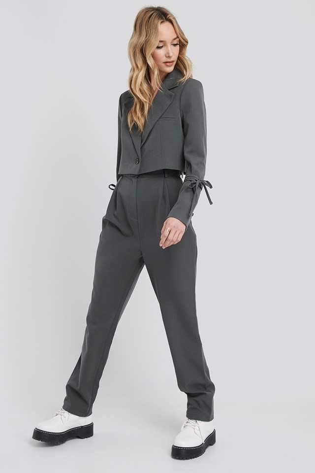 Relaxed Fit Tailored Pants NA-KD