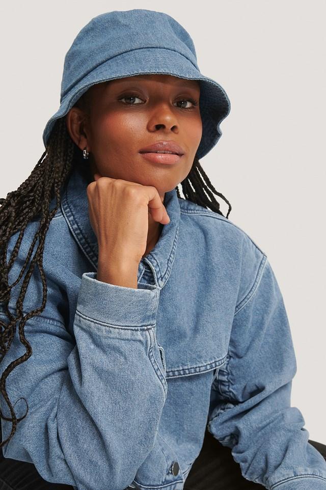 Bucket Hat Denim Blue