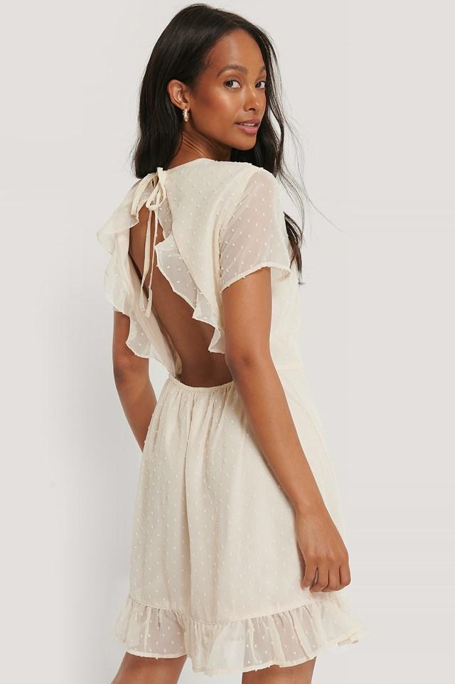 Lovisa Mini Dress Beige