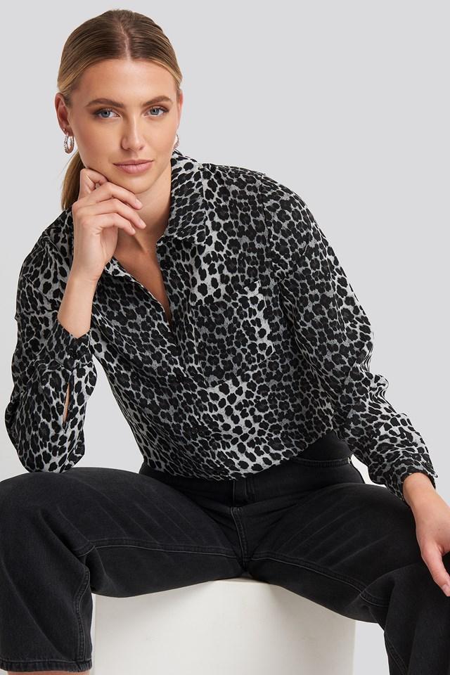 Mandy Shirt Grey Leo