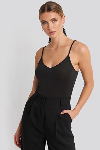 Black Sofia Basic Singlet