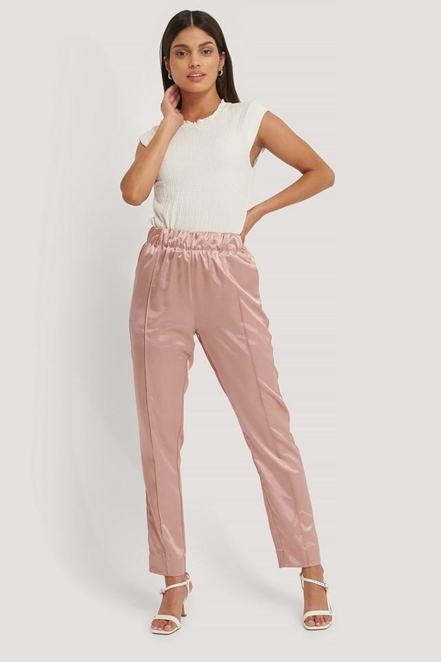 Nicole Pant Dusty Pink