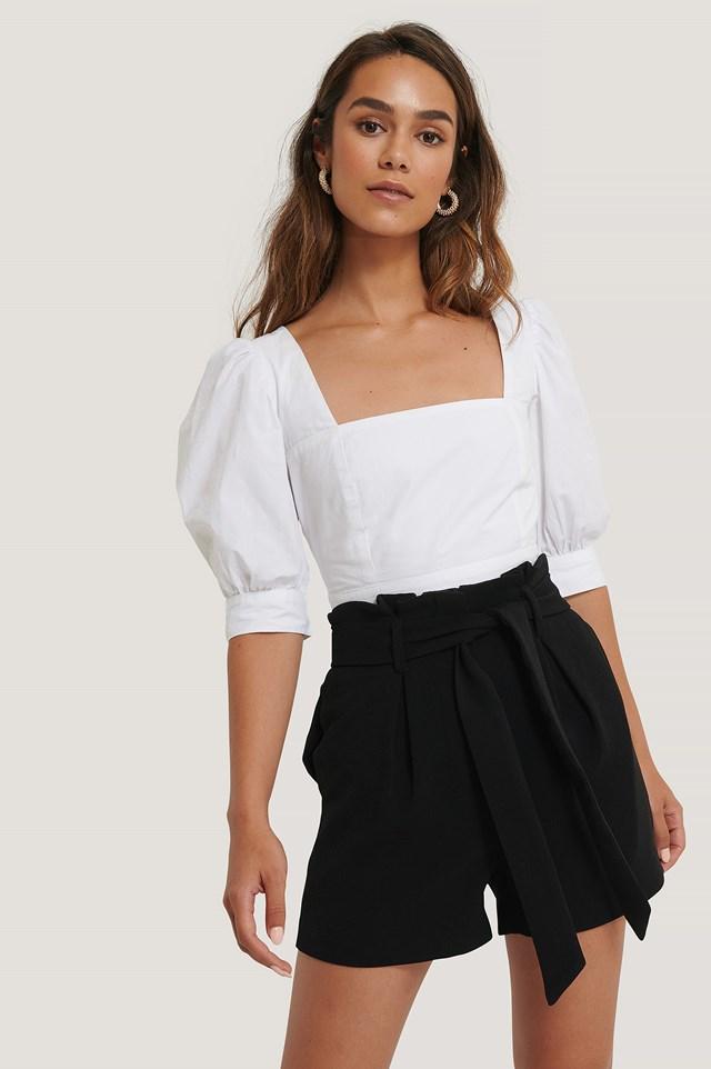 Belt Shorts Black