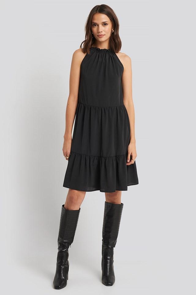 Glass Dress Black
