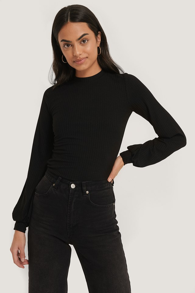 Pema LS Blouse Black