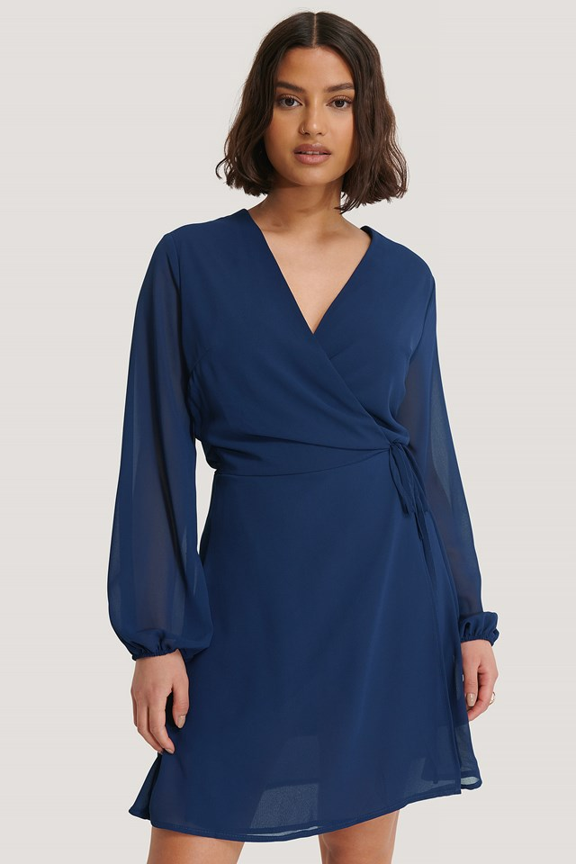 Gobbi Dress Navy