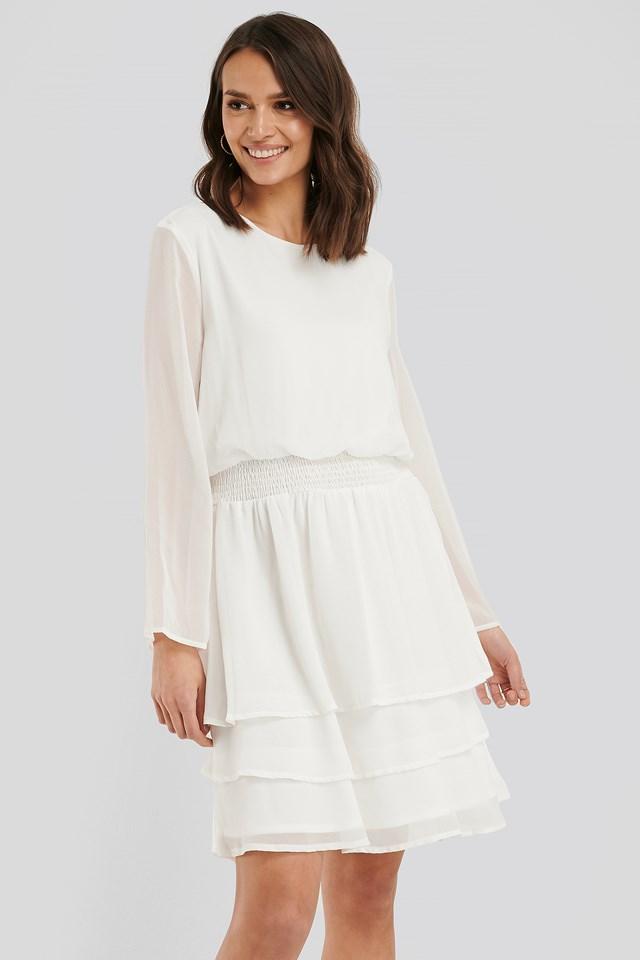 Nicoline Dress Cream