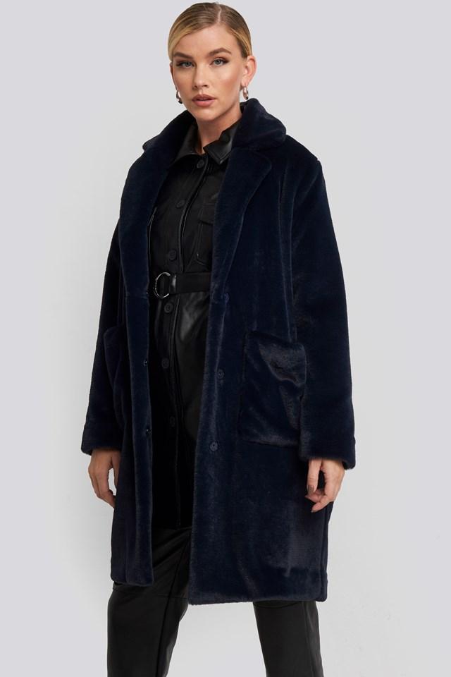 Akita Long Coat Navy