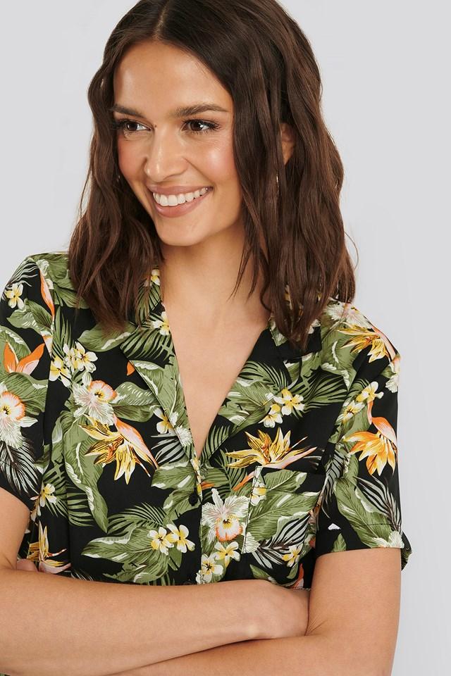 Hope Shirt Short Sleeve Black