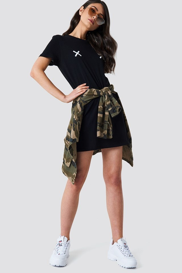 Urban T-shirt Dress Outfit