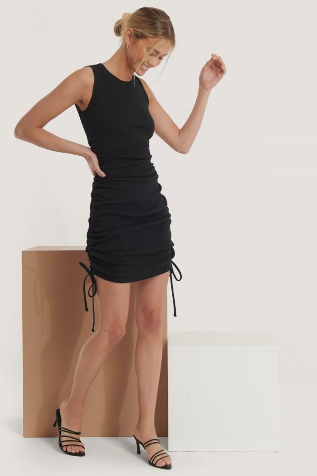 Drawstring Detail Dress