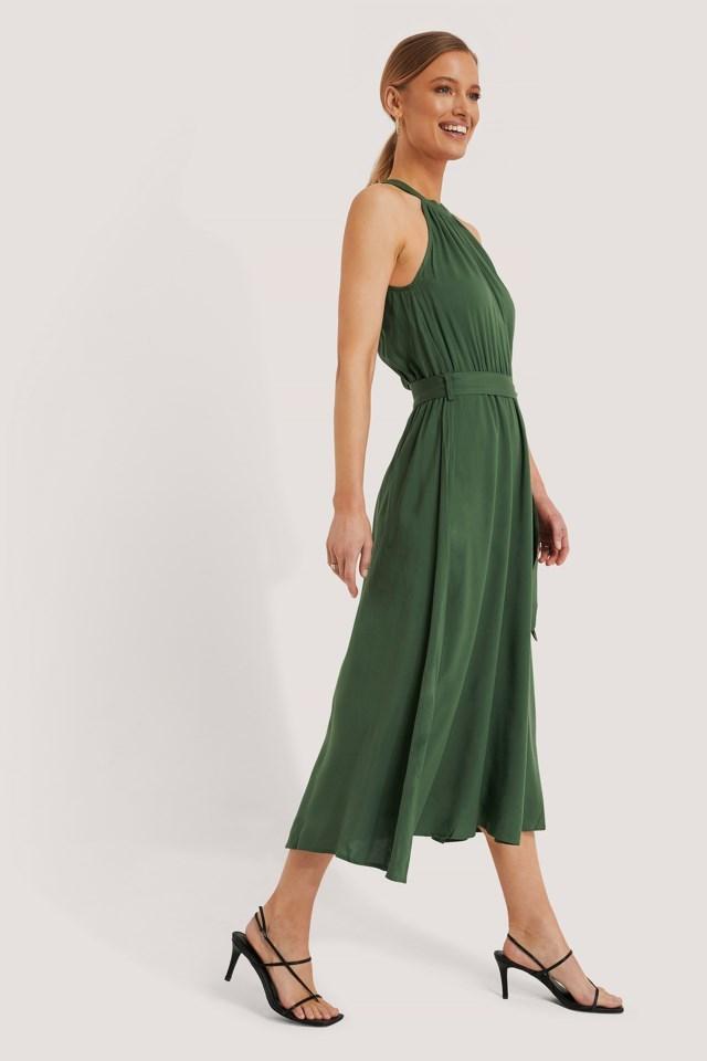 Straped Midi Dress
