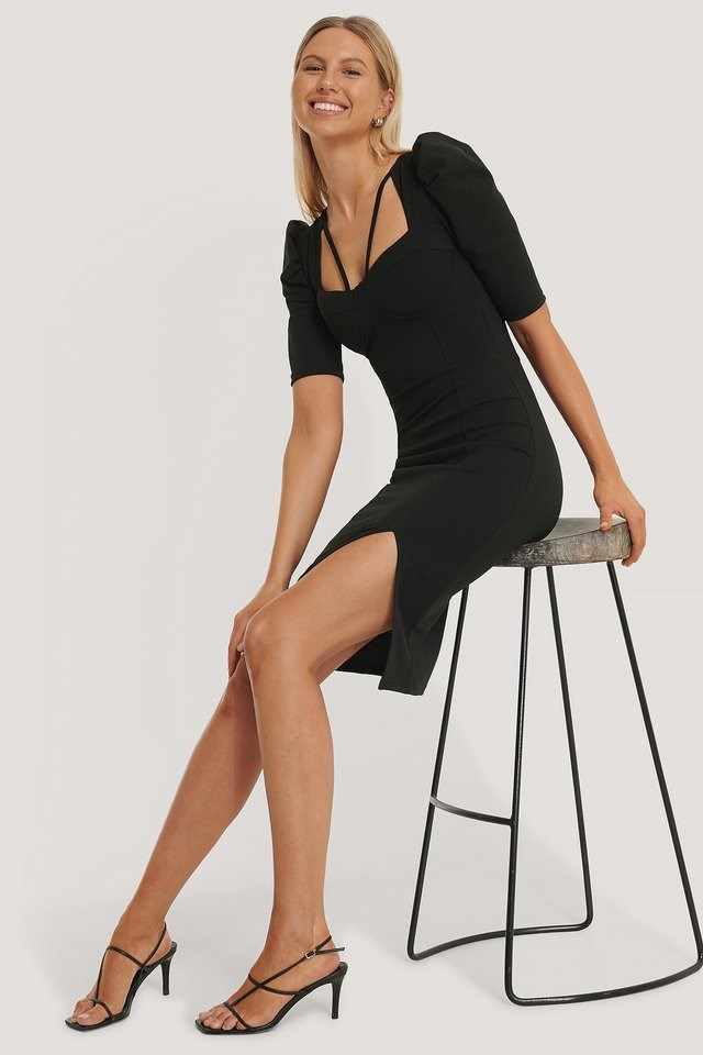 Handle Midi Dress