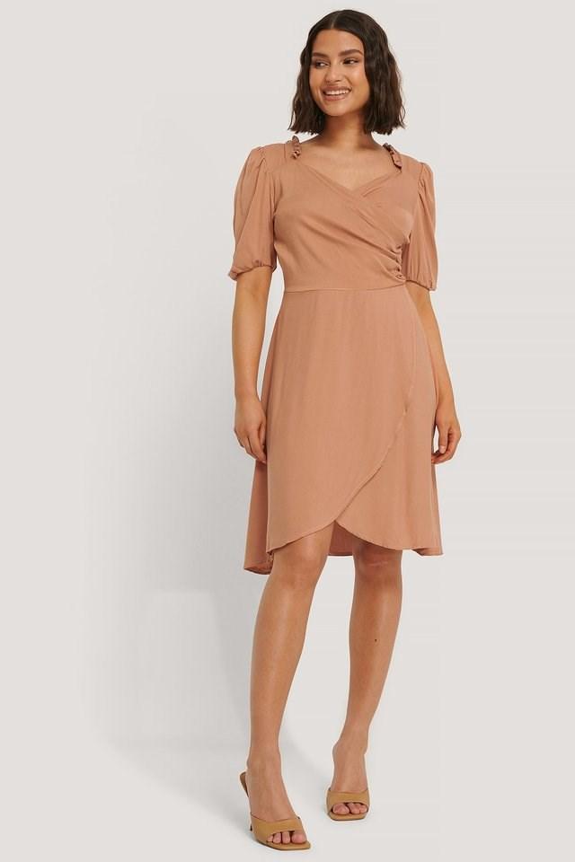 Sam Ruffle Detail Dress