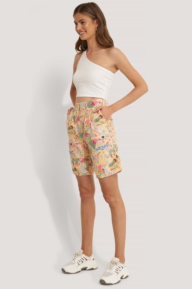 Wide Bermuda Shorts