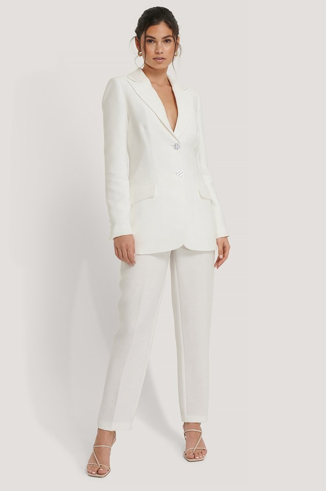 Structured Suit Pants Outfit