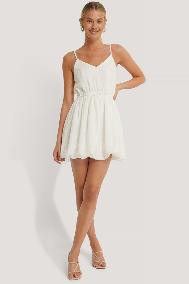 Balloon Structured Dress Outfitn