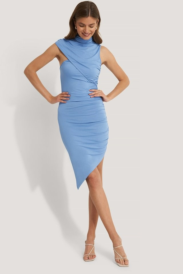 Draped Effect Dress