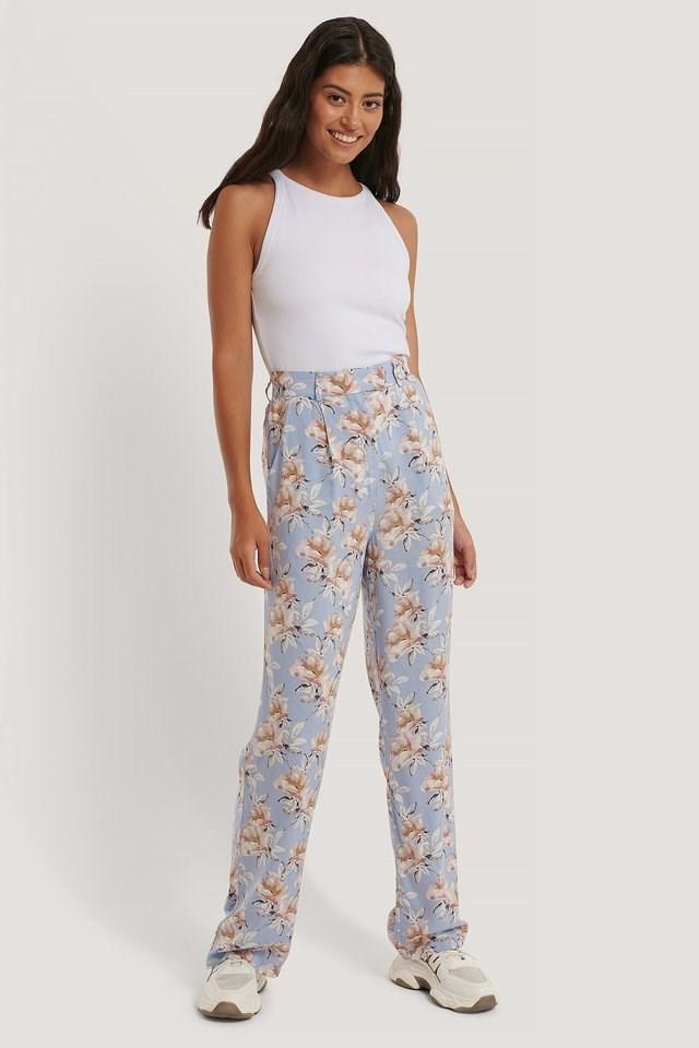 Straight Flowy Pants
