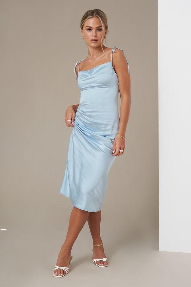 Tie Back Strap Dress