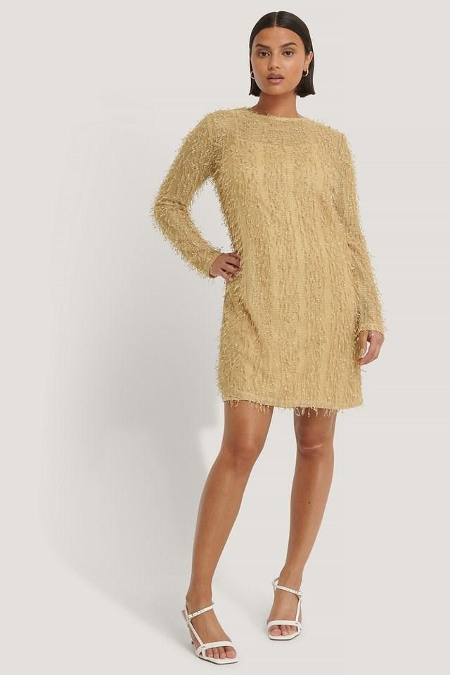 Net Detail Dress