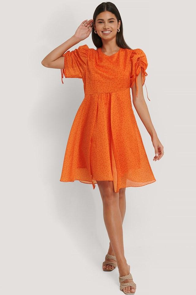 Asymmetric Flowy Dress Outfit