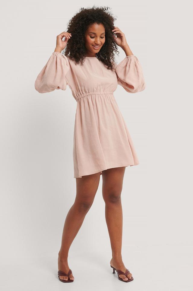 Balloon Mini Dress