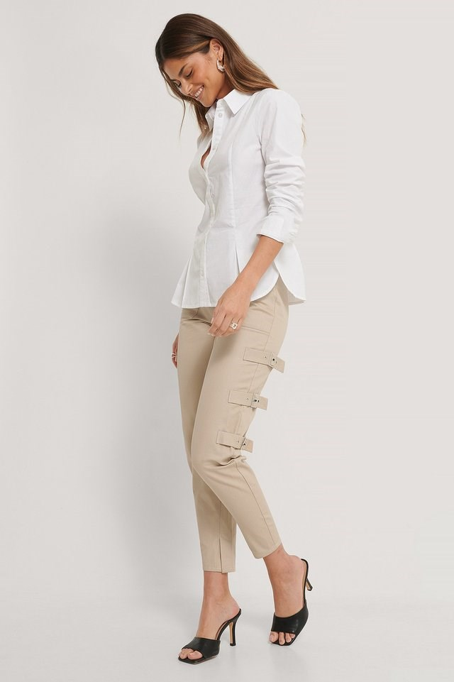 Front Buttoned Shirt cotton