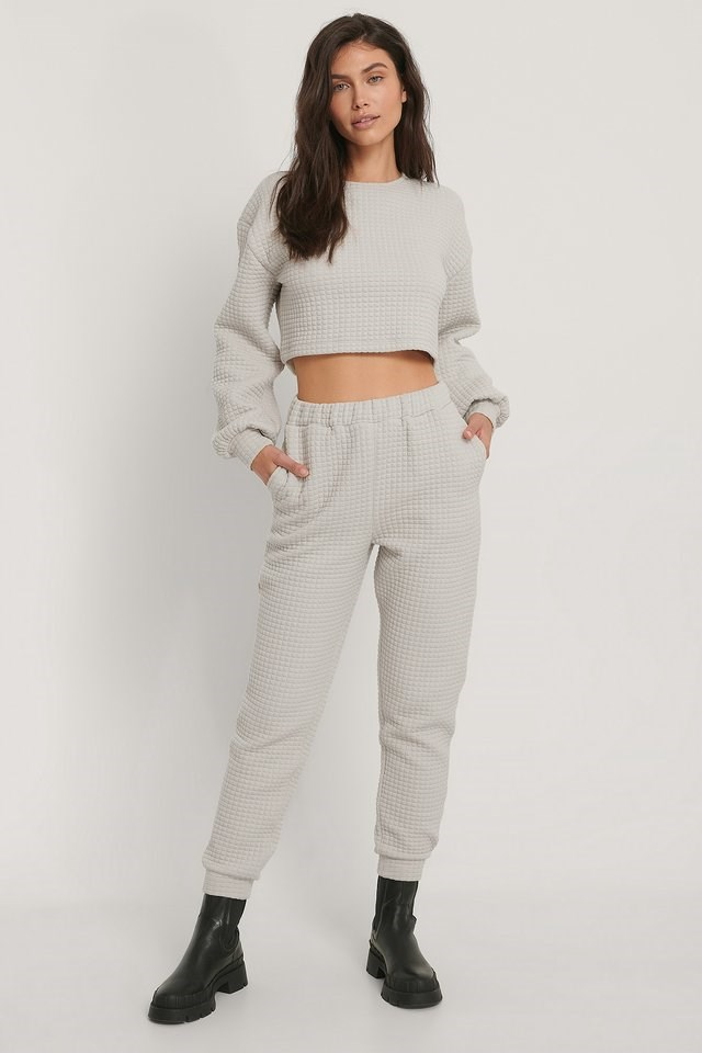 Structured Cropped Sweater