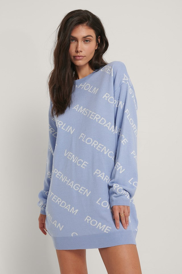 Oversized Long Knitted Sweater