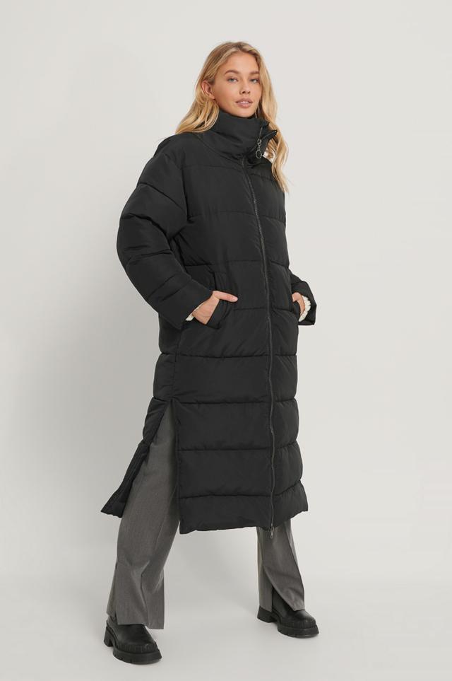 Oversized Long Puffer Jacket