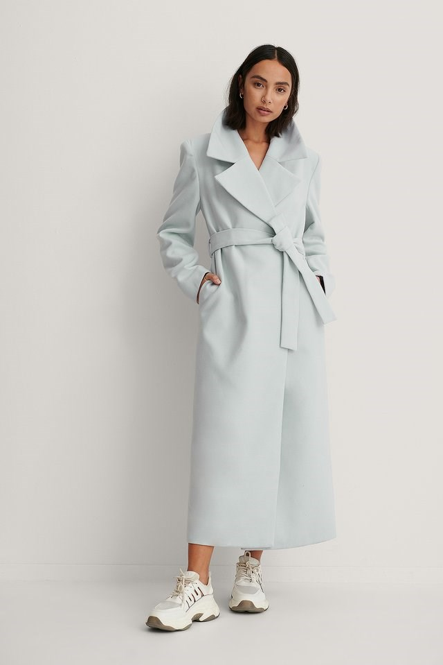 Marked Shoulders Coat