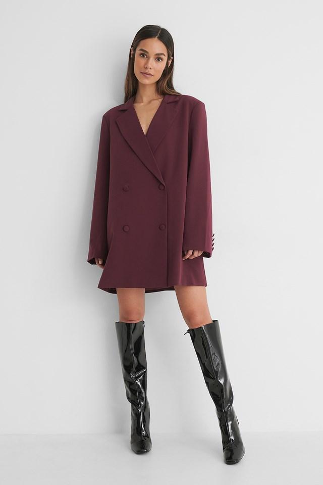 Blazer Dress outfit.