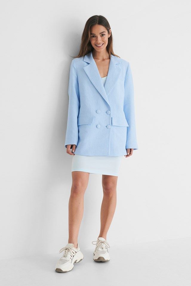 Oversized Structured Blazer outfit.