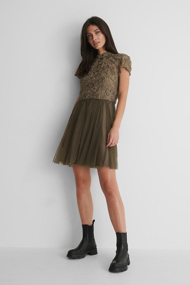 Olive Sandy Dress