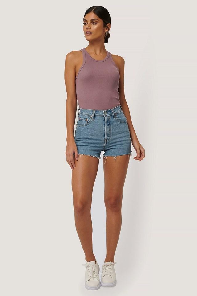 Ribcage Shorts Outfit.