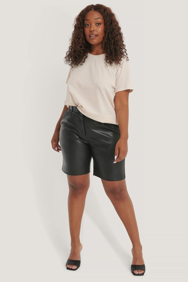 2-Pack Oversized Tee Outfit.