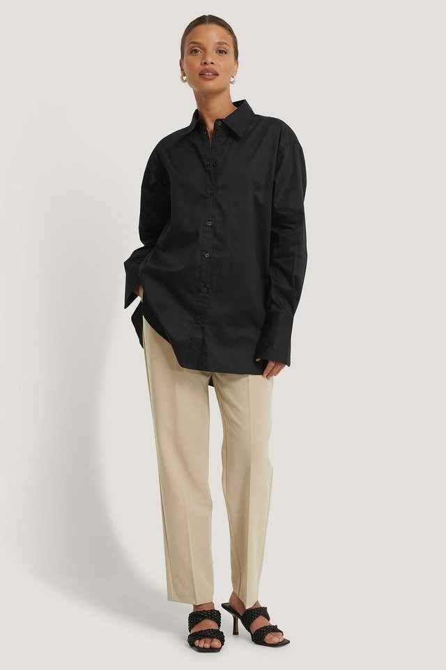 Oversized Shirt Outfit.