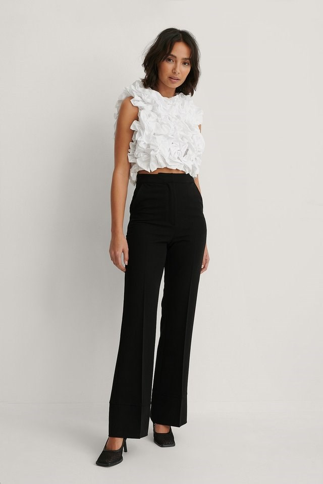 Volume Puffy Top Outfit.