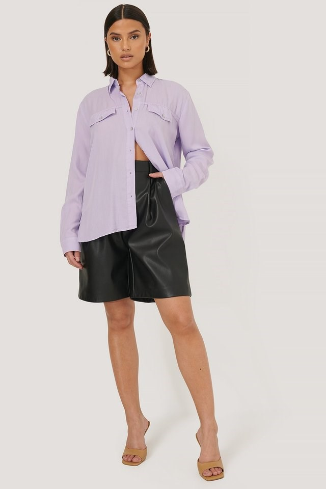 Breast Pocket Shirt Outfit.